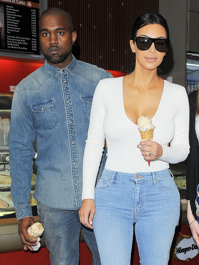 Cake - Every Style Lesson We Learned From the KimYe Wedding Brunch ...