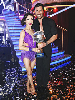 What's Up with the Chemistry Between DWTS Champs Maks and Meryl? | Maksim Chmerkovskiy, Meryl Davis