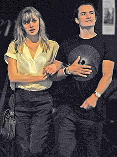 Is Orlando Bloom Dating Model Laura Paine?
