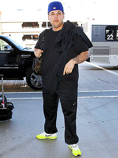 Rob Kardashian's Response to Body Bashers: 'I'm Aware That I'm Fat' | Rob Kardashian