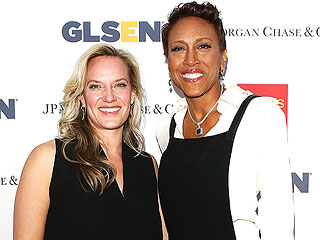 Robin Roberts & Girlfriend Step Out to Support 'Courageous Students'