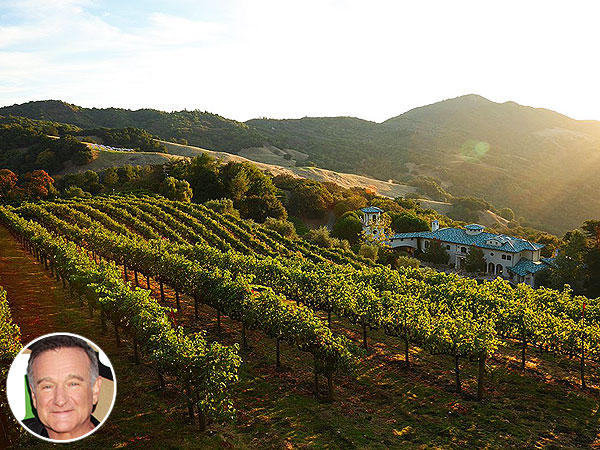 See Robin Williams's $29.9 Million Napa Valley Villa