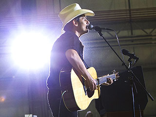 Brad Paisley Surprises Troops with Show in Afghanistan