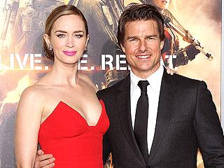 Tom Cruise & Emily Blunt Wide Awake After 24-Hour Red Carpet Marathon