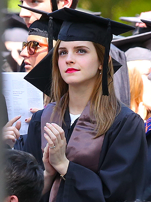Emma Watson Graduates from Brown University (Photo)