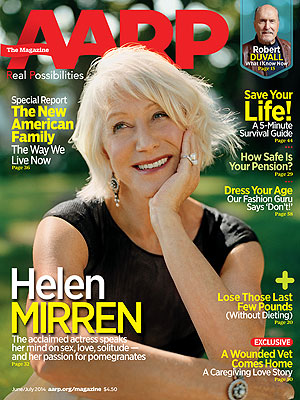 Helen Mirren on AARP Cover: Don't Call Me a Sex Symbol