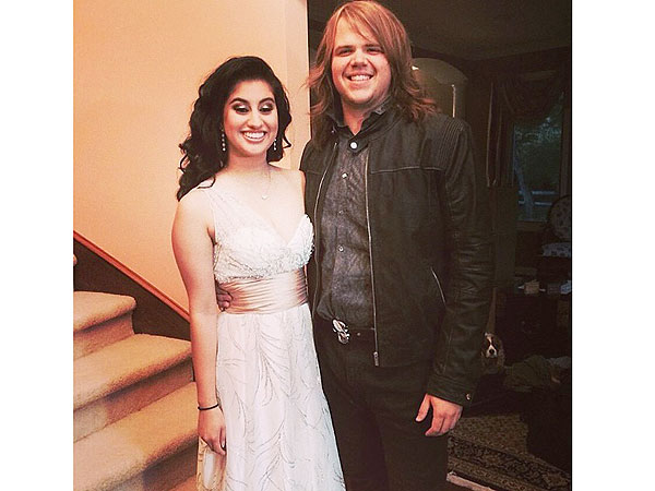 American Idol Winner Caleb Johnson Escorts Runner-Up Jena Irene to Her Prom