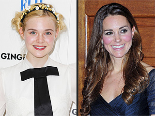 Elle Fanning Is Kate Middleton's Cousin
