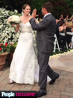 Bachelor Pad 2 Winner Michael Stagliano Is Married – See His Wedding High-Five!