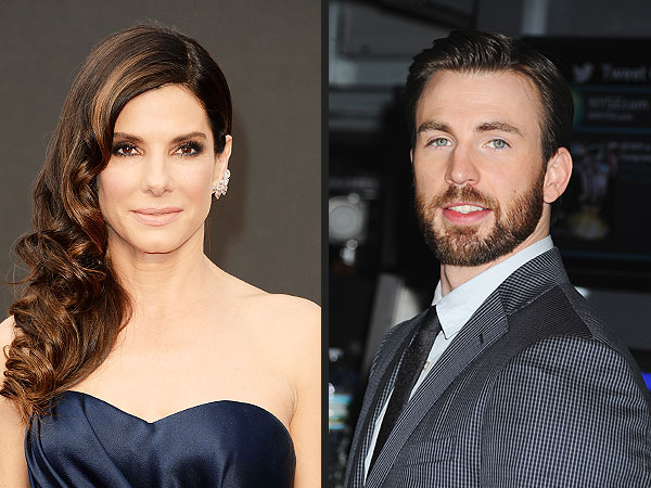 Sandra Bullock Jokes About Chris Evans: We're Married and Separated