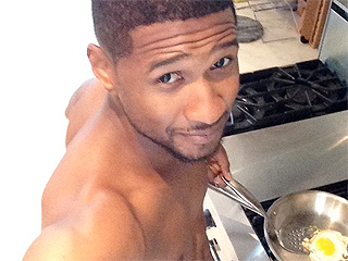 WATCH: Shirtless Usher Cooks Tuscan Eggs in Underwear
