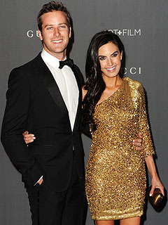 Armie Hammer Elizabeth Chambers Pregnant Expecting First Child