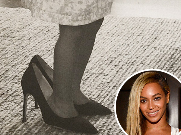 Blue Ivy Plays Dress-Up with Beyoncé's High Heels