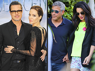 Angelina & Brad vs. George & Amal – Who Will Wed First?