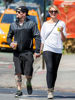 Cameron Diaz 'Really Happy' with Benji Madden, Pal Says | Benji Madden, Cameron Diaz