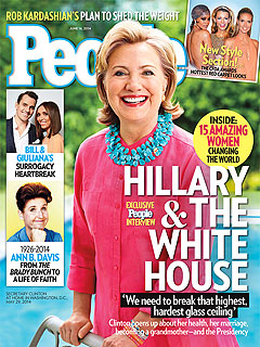 Hillary Clinton Opens Up About Becoming a Grandmother – and Possible Presidential Run | Hillary Rodham Clinton