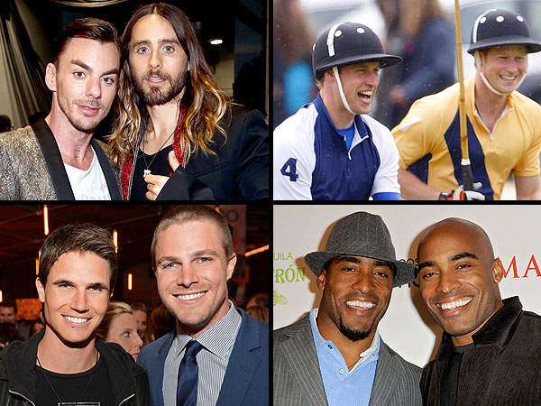 Who Are Hollywood's Sexiest Brothers?| Adam Levine, Alexander Skarsgard, Caleb Followill, Chris Evans, Chris Hemsworth, Dave Franco, James Franco, Jared Followill, Jared Leto, Justin Theroux, Liam Hemsworth, Maksim Chmerkovskiy, Stephen Amell, Val Chmerkovskiy, Zac Efron