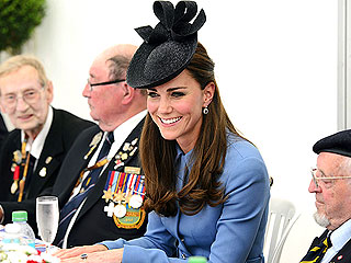 Prince William and Kate Meet D-Day Veterans in Normandy (Photos)