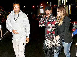 Kourtney and Khloé Have a Double Date in N.Y.C.