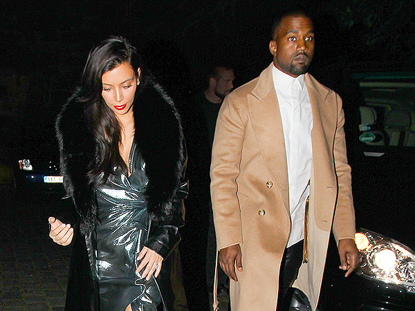 Kim Kardashian & Kanye West Wear Matching Outfits at His Stylist's Wedding in Prague| Wedding, Kanye West, Kim Kardashian