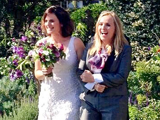 See Melissa Etheridge on Her Wedding Day!