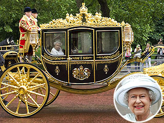Queen Elizabeth Has a New Ride 1,000 Years in the Making | Queen Elizabeth