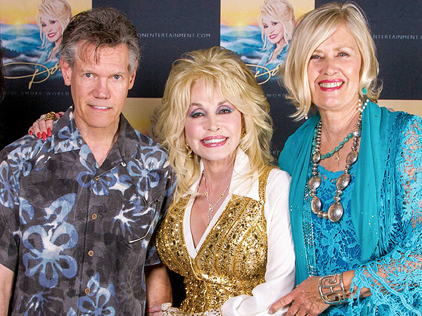 Randy Travis Steps Out for Friend Dolly Parton's Concert