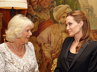 Angelina Jolie Meets Camilla, the Duchess of Cornwall