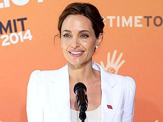 Angelina Jolie Speaks at Anti-Rape Summit | Angelina Jolie
