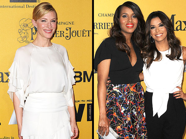 Cate Blanchett, Eva Longoria Shine at Women in Film Awards