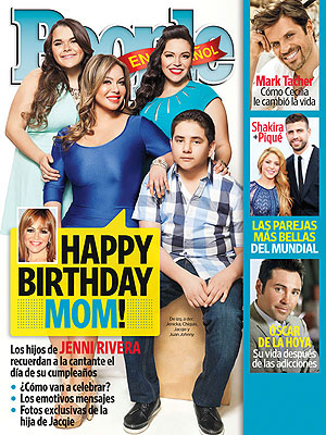 Jenni Rivera's Kids Celebrate Her Birthday with Music, Food & Tequila