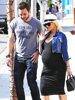 Christina Aguilera Second Pregnancy Very Easy