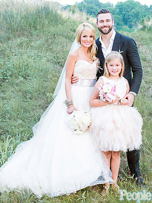 See Emily Maynard's Wedding Portrait – with Daughter as Maid of Honor!