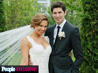 See Ginger Zee's Stunning Wedding Dress