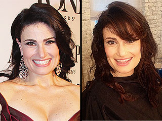 Idina Menzel Flaunts 'Impulsive, Two-Minute' Bangs (PHOTO)