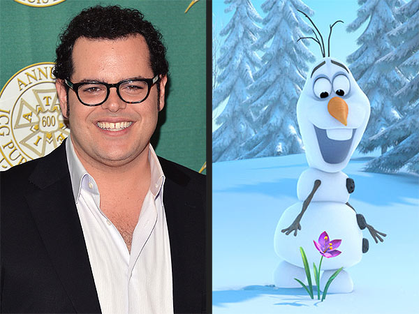 Frozen  s Josh Gad to Star as Olaf the Snowman on Broadway Josh Gad Olaf