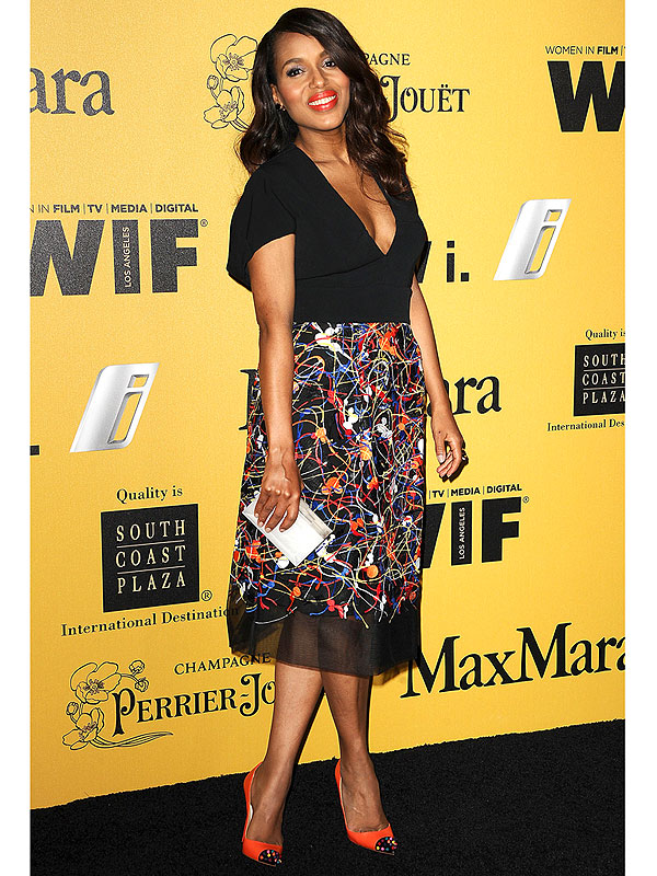 Kerry Washington Body After Baby SportMax Christian Louboutin Women in Film red carpet