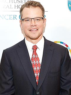 Matt Damon's Father's Day Plans: 'I Get to Put My Feet Up'