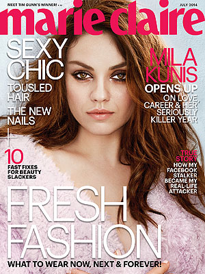 Mila Kunis Marie Claire
