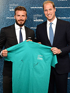 Prince William Names David Beckham as Ambassador of United for Wildlife | David Beckham, Prince William
