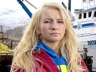 Watch Mandy Hansen on Board with Deadliest Catch Crew | Deadliest Catch