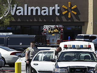 5 Dead in Shooting at Vegas Restaurant, Walmart