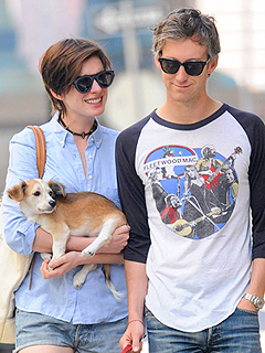 Anne Hathaway's New Puppy Is a 'Little Gentleman'