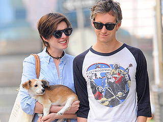 Anne Hathaway Has an Adorable New Furry Friend