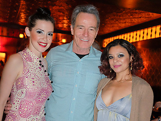 Bryan Cranston Watches Burlesque Show