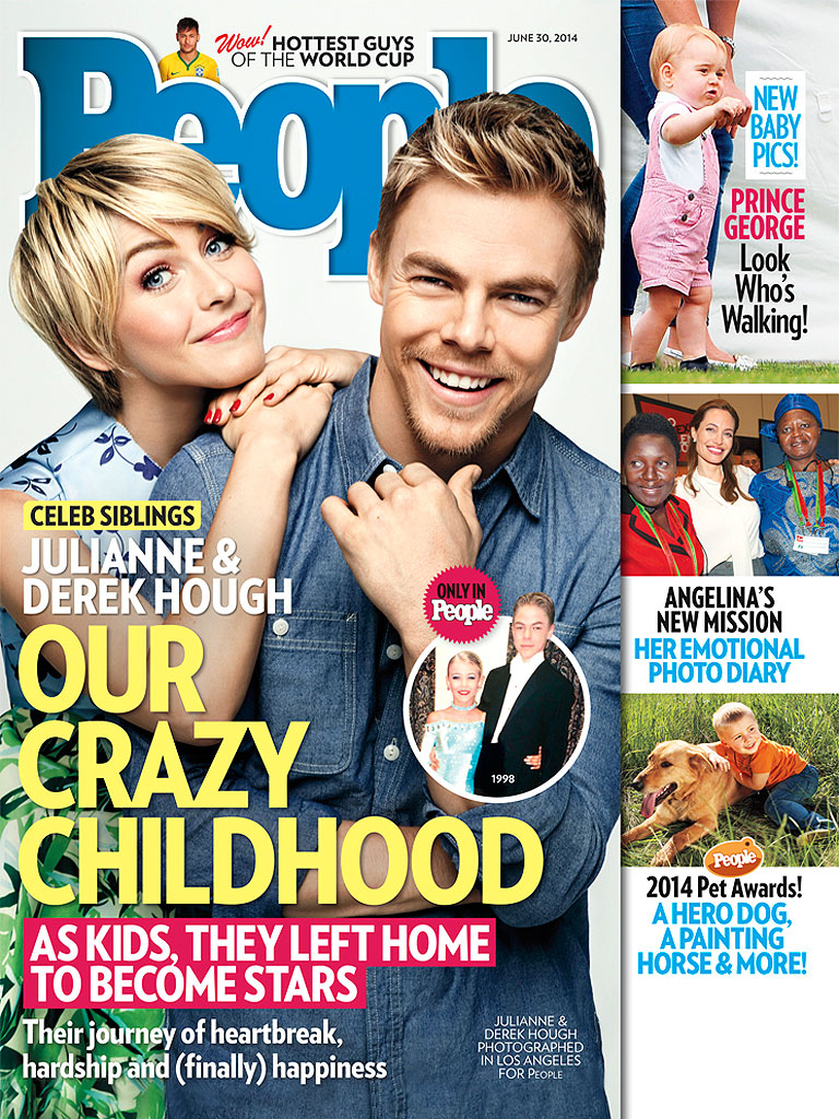 Derek & Julianne Hough Open Up About How Their Challenging