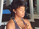 Namaste! Kelly Rowland Bares Bump in Cute Yoga PIc