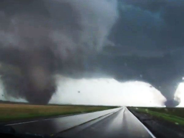 Twin Twisters Level Nebraska Town, Kill 5-Year-Old Girl| Death, Natural Disasters, Tornados