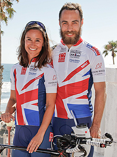 On Your Mark, Get Set, Go! Pippa Middleton Begins Biking Across America