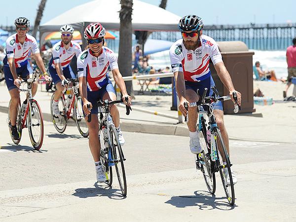 Pippa and James Middleton Begin Bike Ride Across America| James Middleton, Pippa Middleton